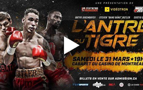 L'Antre du Tigre / Casino de Montréal 31 03 2018
