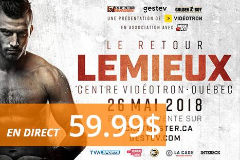 David Lemieux C. Karim Achour