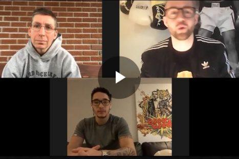 On jase boxe avec Éric Lucas et François Pratte Steven BangBang Butler